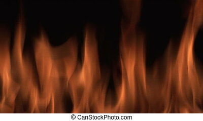 Close up of Flame