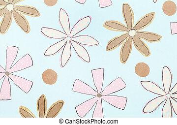 flower pattern paper
