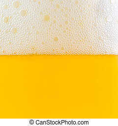 foam and bubble beer