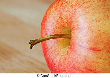 Close up of fresh apple
