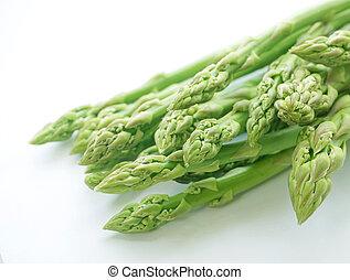 Close up of fresh asparagus