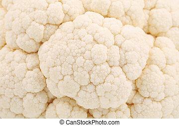 Close up of fresh cauliflower.