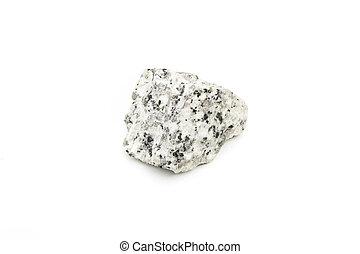close up of granite rock