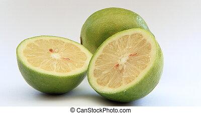 half cut lime