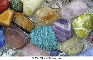 Close up of Healing Crystals