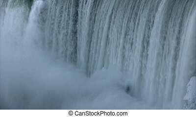 Niagara Falls - close up of horseshoe falls, Niagara Falls