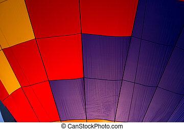 Close up of Hot Air Balloon