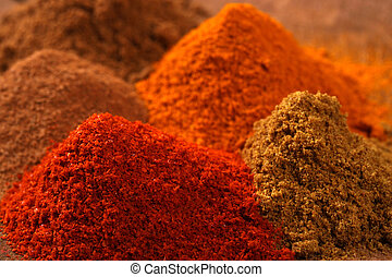 Indian spice - Close up of Indian spice