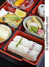 Japanese vegetarian lunch box