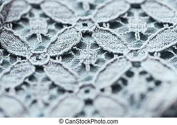 close up of lace textile or fabric background