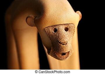 leather monkey face