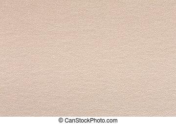 Close up of light beige paper texture.
