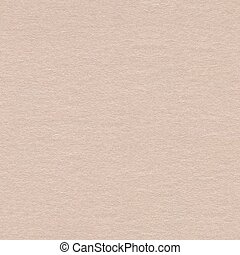 Close up of light beige paper texture. Seamless square backgroun