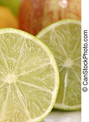 Close-up of Lime Slice 4