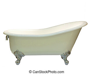 close up of luxury bathtub