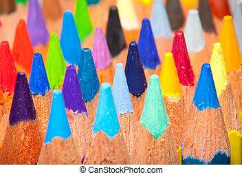 pencils background