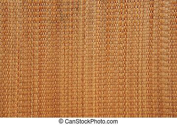 Close up of mat texture