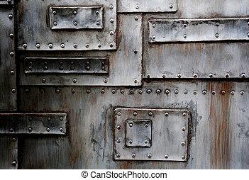 metal texture - Close up of metal texture