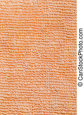 Close-up of micro fiber fabric texture