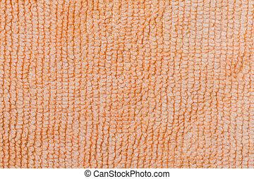 Close-up of micro fiber fabric texture