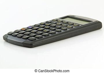 Close up of mortgage calculator