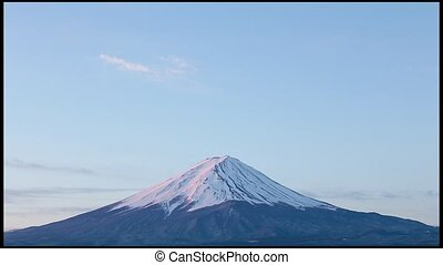 close-up of Mt.Fuji