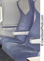 passenger seats inside an airplane