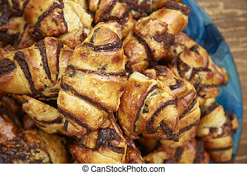 Close up of pastries