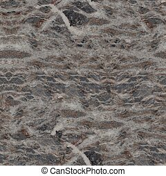 Close up of patterned natural of dark gray marble use for...