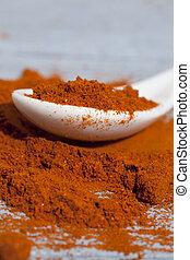 Close-up of pepper spice