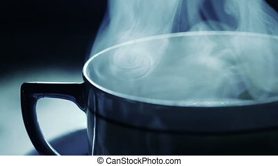 Close Up Of Pouring Tea Into A japanese Ceramic Cup