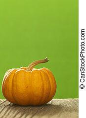 Close-up of pumpkin, studio shot