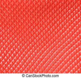 Close up of red texture.