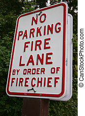 No Parking Fire