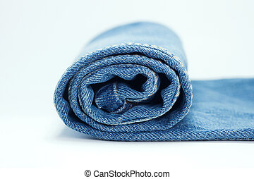 Close-up of Roll Jeans
