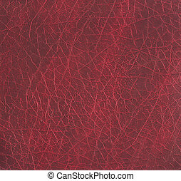 rough maroon leather texture - close-up of rough maroon...