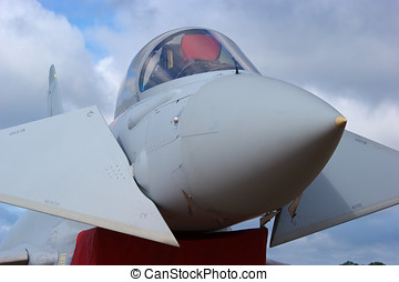 Eurofighter Typhoon - Close up of Royal Air Force...
