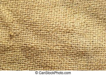 sack texture - close up of sack texture