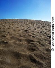 Close Up Of Sand Dunes