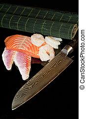 seafood - close up of seafood