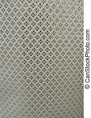 close up of silk fabric background