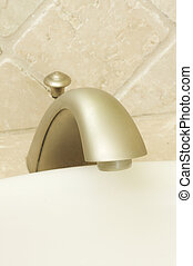 Close-up of Sink Faucet