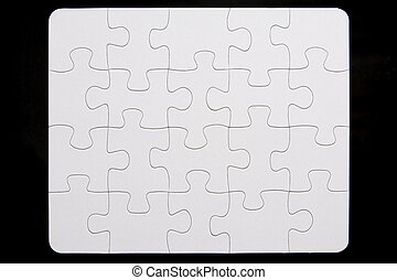 Close-Up Of Small Puzzle