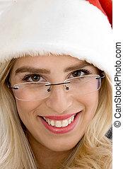 close up of smiling femal