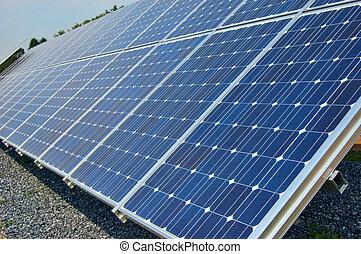 solar panel - close up of solar panel