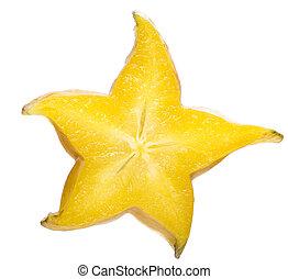 star fruit slice