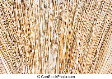Close up of straw as background.