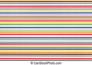 stripe pattern paper - Close up of stripe pattern paper,...