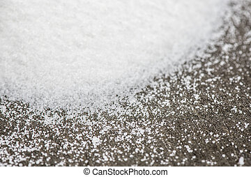 Close Up of Sugar Crystals