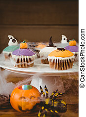 Close up of sweet food during Halloween